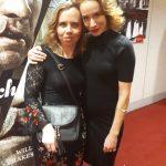 Miška spoločne s pani Táňou Pauhofovou v Slovenskom národnom divadle